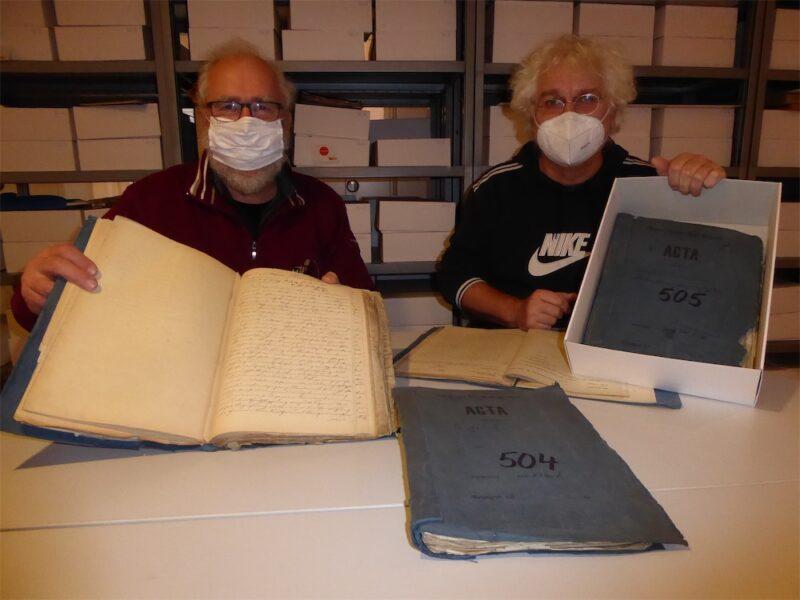 Dokumente aus dem Kirchener Stadtarchiv